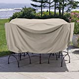 Weather Wrap Round Pub Height Table & Chairs Cover For Sale