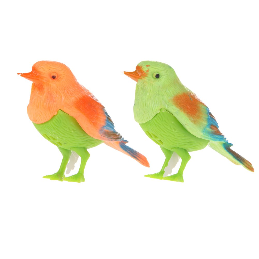 Plastic Sound Voice Control Activate Chirping Singing Bird Funny Toy Gift Childplaymate