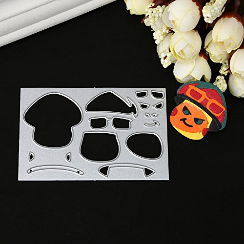 POQOQ Cutting Dies Scrapbooking Paper Card Metal Die Cut Stencils #0312D, Accessories for Big Shot and Other Cutter Machine(C) ()