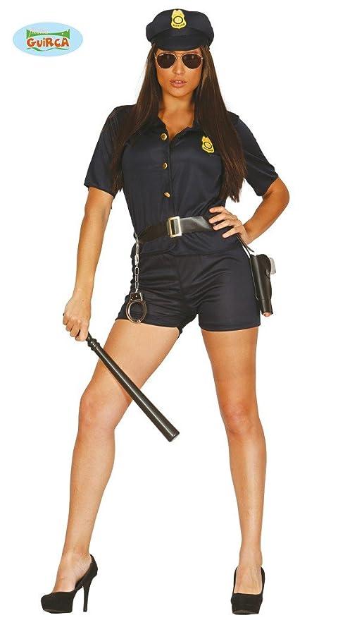 Guirca 84642 - Policia Adulta Talla M 38-40: Amazon.es: Juguetes y ...