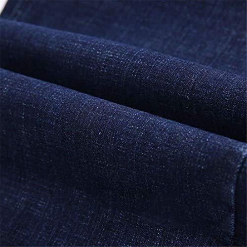 Simili Larghi Ufige Pantaloni Uomo Casual E Dritti Blau Jeans Grigi Skinny Huixin Primaverili Denim In wOcRIEyyq