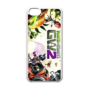 games Plants vs Zombies Garden Warfare 2 Game Poster iPhone 5c Cell Phone Case White 91INA91189578