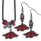 7c527418b6dd NCAA para mujer Euro arete de perlas y Conjunto de collar