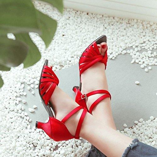 Donne Mode Partito Danza Scarpe Red Zanpa dBnxA0wq5d