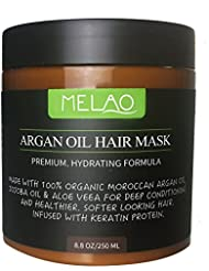 Argan Oil Hair Mask Deep Conditioner for Dry and Damaged...