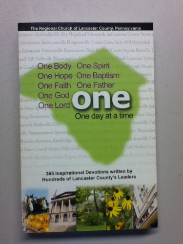 Read Online One Day at a Time: A Devotional from Lancaster County pdf epub