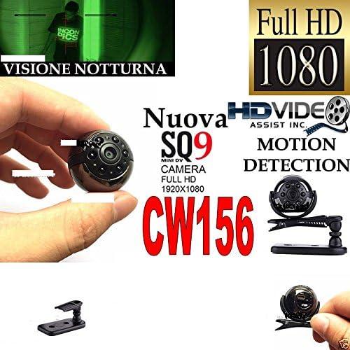 Cámara de vídeo espía - Microcámara de infrarrojos full HD oculta ...