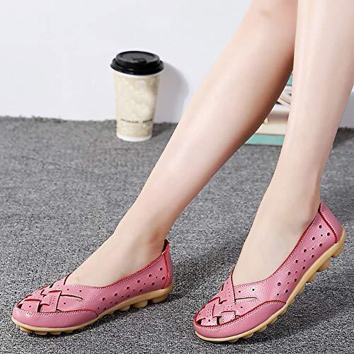 Slipper Pour Femmes Douces Bottines Des Sandales Décontractées Chaussures Rose Otqw5px