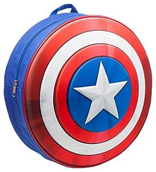 el más nuevo bc6dc 19354 Marvel bp241201cap Capitán América Kids Mochila con Moldeado y Escudo en  Relieve