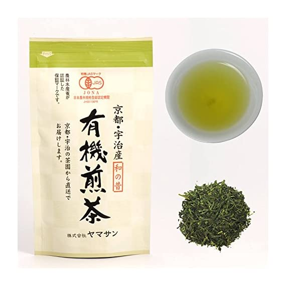 Green tea leaves sencha, jas certified organic,japanese uji-kyoto, 80g bag 【chaganju】 1 ✅naturally grown japanese organic green tea with 100% japanese organic jas certification. ✅we purchase genuine japanese green tea leaves sencha directly from contract farmers. I want you to drink every day so i will provide better quality at an affordable price ✅experienced tea appraisers who have won numerous awards in the tea contest select and blend tea.