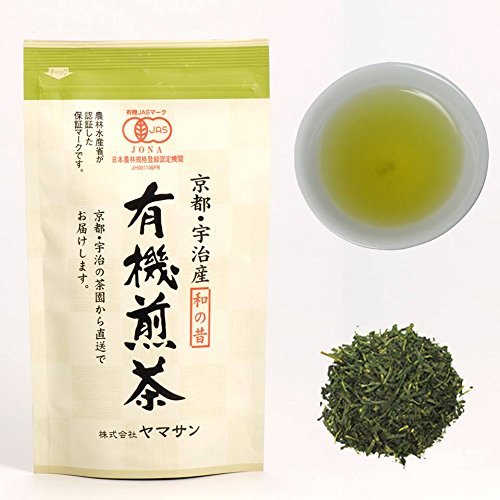 CHAGANJU- Uji Sencha Loose Leaf Green Tea, JAS Certified Organic, Japan, 80g Bag