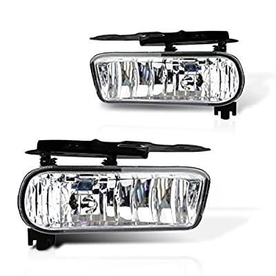 Cadillac Escalade/Escalade EVS Replacement Fog Light Assembly - 1-Pair: Automotive