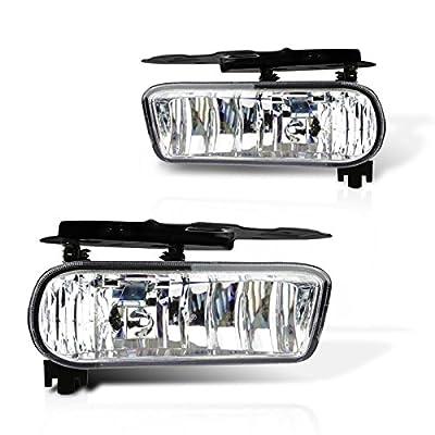 Cadillac Escalade/Escalade EVS Replacement Fog Light Assembly - 1-Pair: Automotive [5Bkhe0117128]