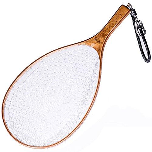Mesh Woods (Burl Wood Fly Fishing Set: Rubber Mesh Net, Magnetic Release)