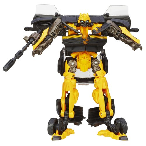 Transformers Age of Extinction Generations Deluxe Class High Octane Bumblebee Figure image