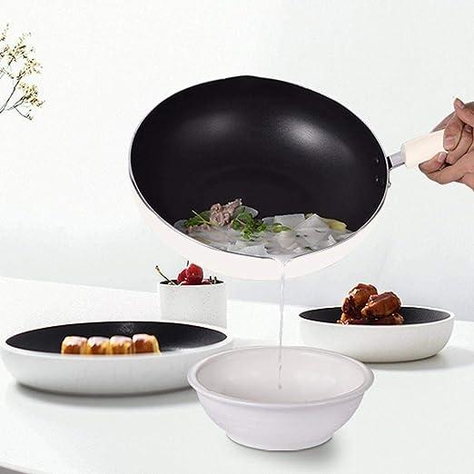 Estufa de gas doméstica antiadherente wok estufa de gas para ...