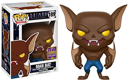 Funko Pop Limited Edition Summer Convention Exclusive 0889698136419 SDCC 2017 Batman The Animated Series Man Bat