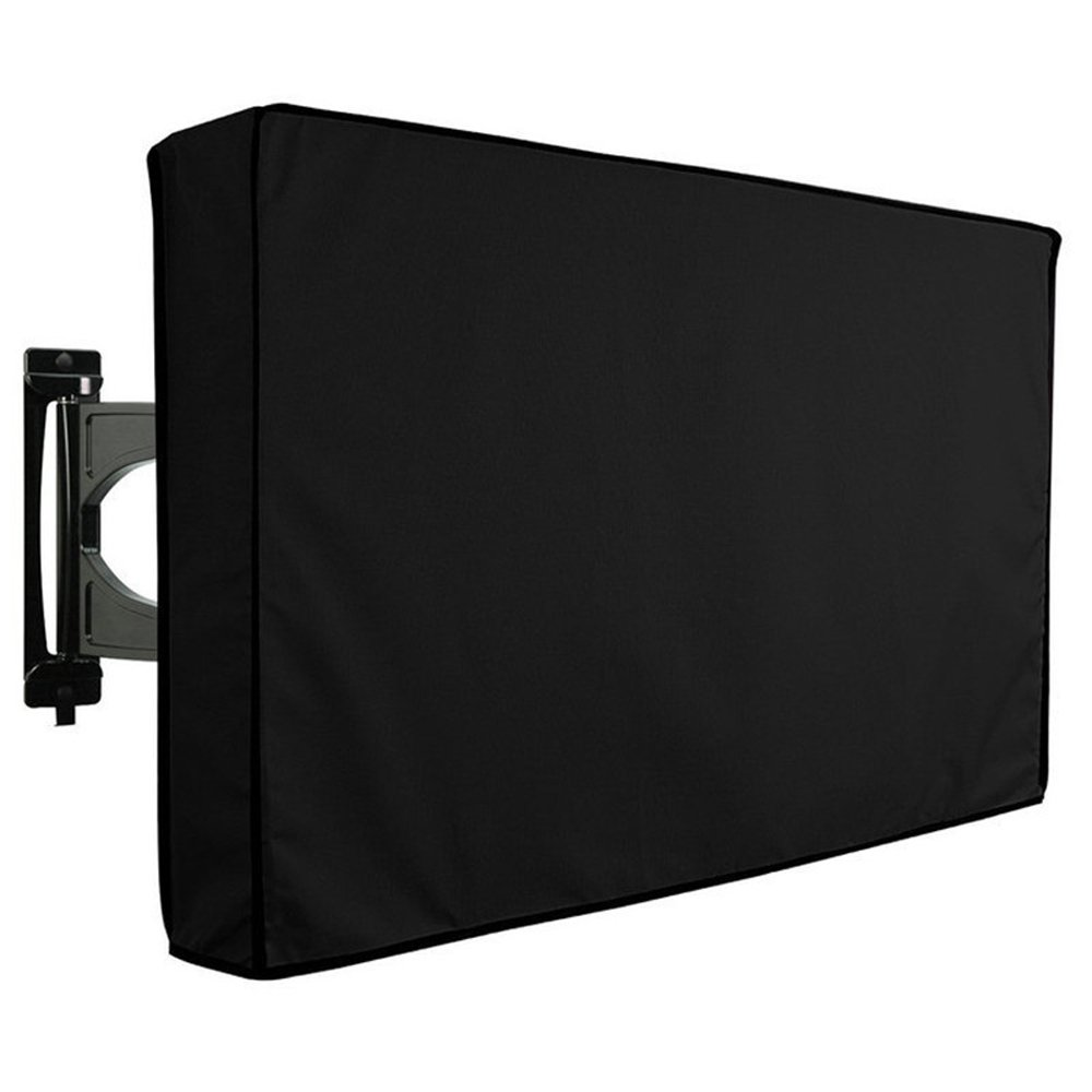 Waterproof Outdoor TV Cover with Remote Storage - 22'' - 65'' Universal TV Protector for LCD, LED, Plasma Television Screens - Outdoor Dust-proof TV Cover Compatible with Standard Mounts (30'' - 32'')