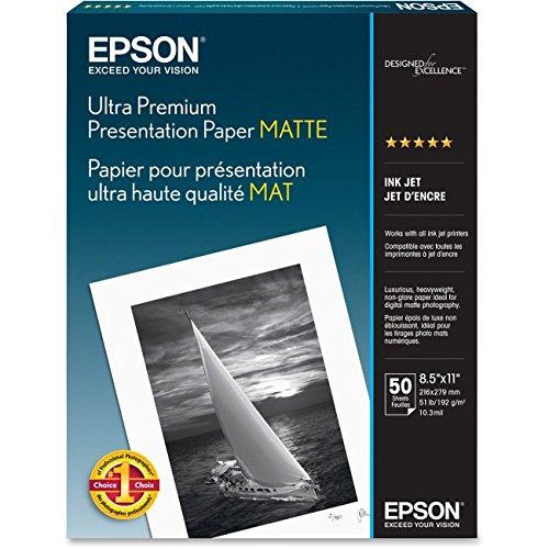 Premium Presentation Paper Letter - EPSS041341 - Epson Ultra Premium Matte Presentation Paper