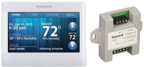 Amazon.com: Honeywell th9320wf5003 WiFi visualización táctil ...