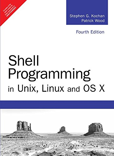 Shell Programming in Unix; Linux and OS X