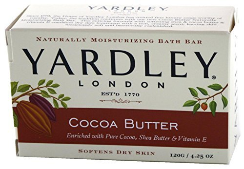 Yardley Cocoa Butter Bar Soap 4.25 Oz By - Yardley Cocoa Butter Soap