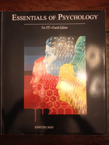 Essentials of Psychology; For FIT 4th ed.