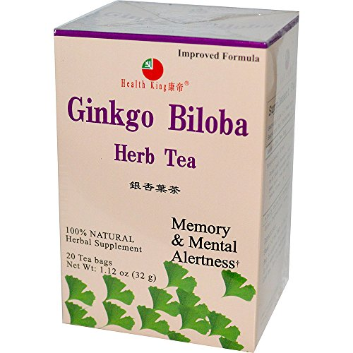 Health King Ginkgo Biloba, Pack of 12 by Health King