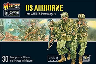 Bolt Action US Airborne plastic boxed set by Warlord Games