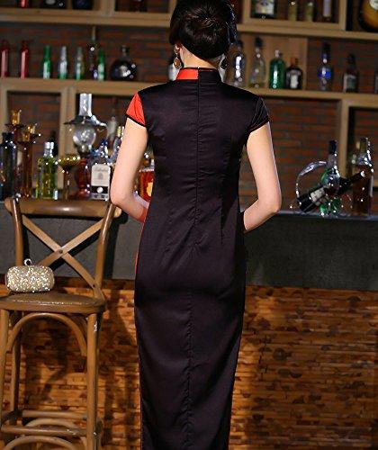 Dress in Retro Qipao Acvip tradizionale Cheongsam stile Party Party cinese Chic Woman Serata Long vqwH0