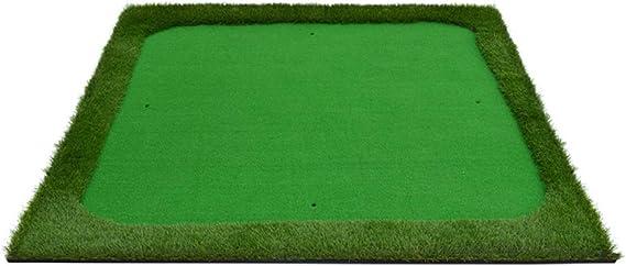 JJHOME-Alfombra Colchoneta de 150x150 cm con tee, Hierba de Nylon ...