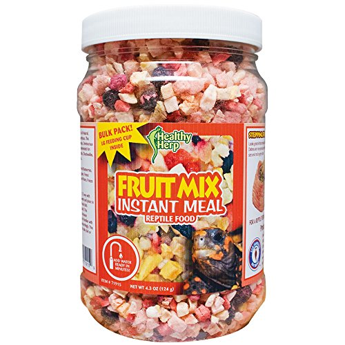- Healthy Herp Fruit Mix Instant Meal 3.5-Ounce (99.23 Grams) Jar