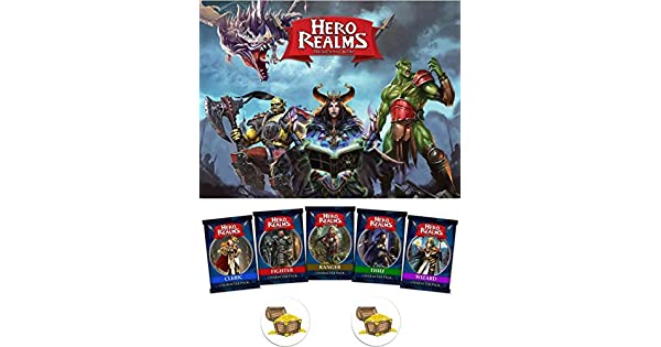Amazon.com: HERO Realms Juego de cartas-Set de tablero de ...