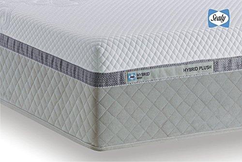 Tempur Sealy Hybrid Plush 32 cm, Colchón de espuma viscoelástica de núcleo de muelles + 80 x 200 cm, cama con somier: Amazon.es: Hogar
