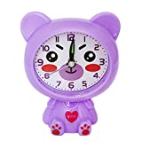 Make You Happy Bear Alarm Clock,Creative Children Kids Students Animal Bear Alarm Clock