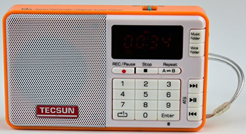 Tescun Player Radio Voice Recorder product image