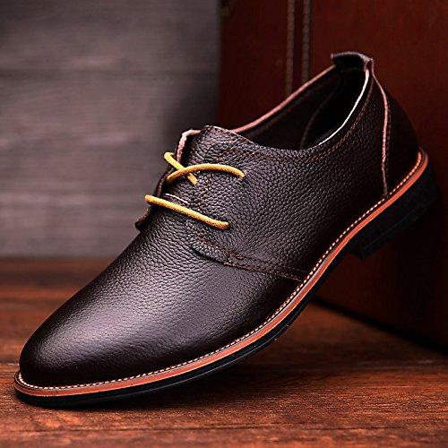 scarpe Casual Skid della alla di alta qualit guida L'uomo vettura Scarpe nq7pB0