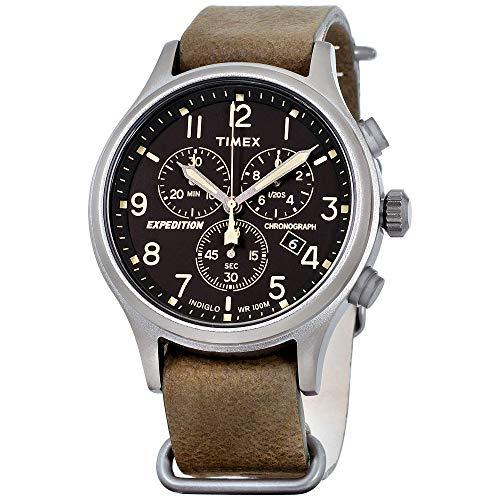 Timex Expedition Scout Chrono Slip-Thru Watch - Green/Black [TW4B041009J]