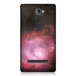 DIY Case Designs Stellar Lagoon Nebula Outer Space by ruishername