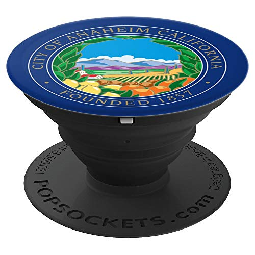 City of Anaheim California - United States of America USA - PopSockets Grip and Stand for Phones and Tablets]()