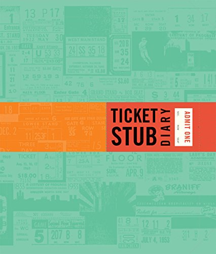 Ticket Stub Diary (Diary Tickets Stub)