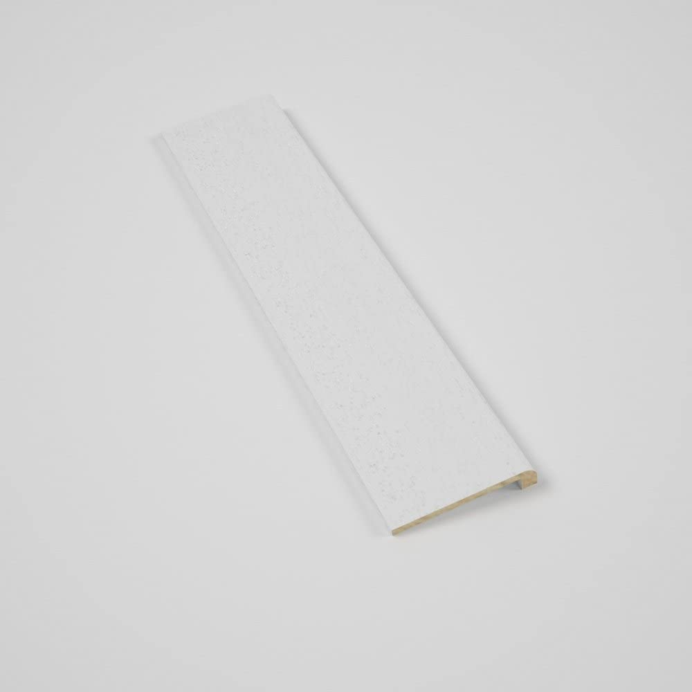 Cubierta Moderna para rodapi/é en madera Tinto Blanco 90x16mm