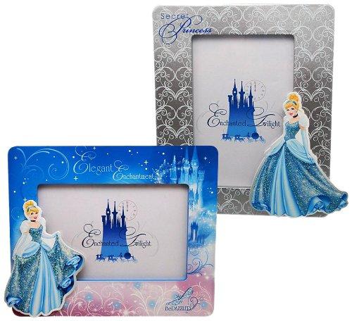 Disney 90007 Cinderella Wood Frame. [1 Piece - Assorted Models] -