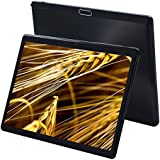 """2018 4G Network Tablets 10.1 Inch Android 7.0 Octa Core 1920x1200 IPS Screen 10"""" Tablet PC 3G Phone Call Double SIM Card Telephone Slice 4GB 64GB 9 For Kids(Black)"""