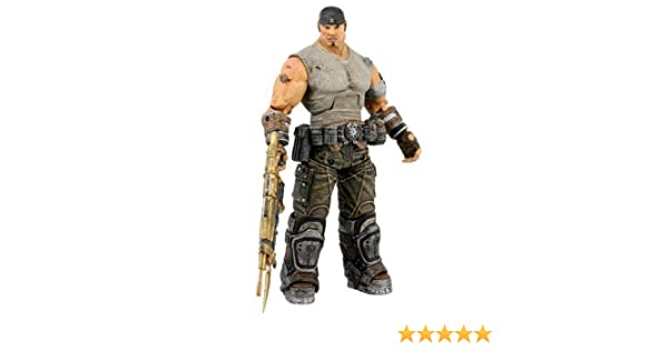 NECA Gears of War 3 Marcus COG Soldier Savage Theron Action Figures Set of 4
