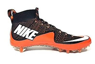 54a268536468 Nike Vapor Untouchable Pro Football Cleats Black Orange 707455 Size 12 (12,  Orange Black