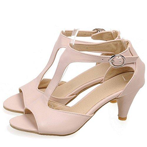 Peep Femmes JOJONUNU SM Pink Elegant Toe Sandales EZExHqCw