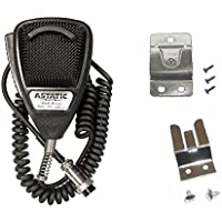 Astatic 636L Noise Cancelling 4-Pin CB Radio Microphone W/ Mic Clips