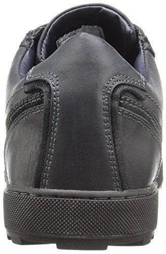 Steve Madden Mens Hansom Fashion Sneaker Nero / Nero