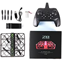 Z8 RC Mini Drone 0.3MP Wifi 2.4G 6AXIS Altitude Hold UFO Quadcopter Pocket Drone With One-Key Return HD Camera for Amateur